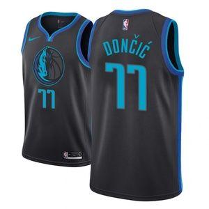 Dallas Mavericks #77 Luka Doncic Jersey